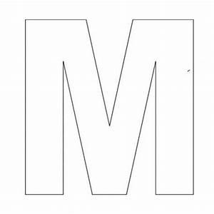 Alphabet-Letter-M-Template-For-Kids | ABC crafts | Pinterest