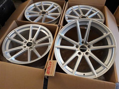 """They have about 13 miles on them. NEW 19"""" INCH ALLOY WHEELS R19 ALLOYS MERCEDES C E S CLASS CLS SL AMG C63 SL55 E63 W212 W205 ..."""