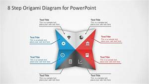8 Steps Origami Powerpoint Diagram