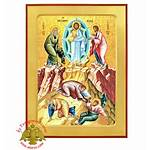 Transfiguration Holy Icon Theotokos Monastery Wooden Byzantine