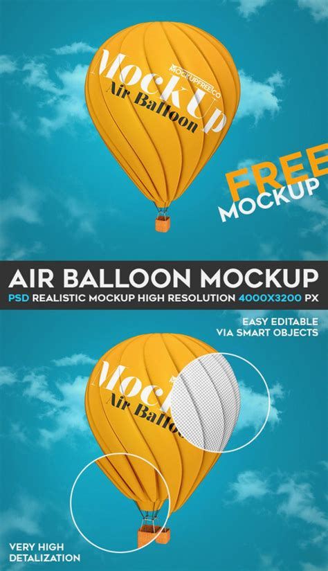 air joomlsa template air balloon mockup psd template engine templates