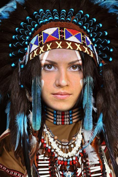 native indian face  hole native costume  war bonnet