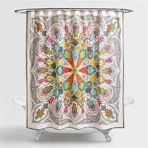 Andana Medallion Shower Curtain World Market