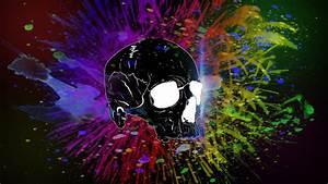 Skull Wallpaper by Lembi203 on DeviantArt