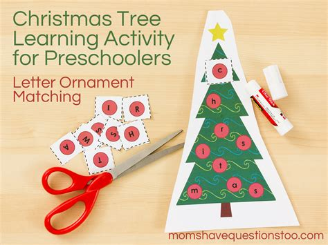 christmas tree activities for christmas tree activity for toddlers and preschoolers 8107