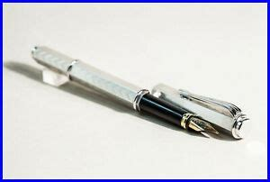 Offered here is extremely rare, herlitz bugatti fountain and ballpoint pen set, which was the only flagship pen this company had for years. Large Bugatti Herlitz 925 Silver Cartridge Fountain Pen ...