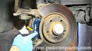 Mercedes-benz W203 Front Brake Pad Replacement