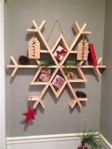 ana white snowflake shelf featuring chasing a dream blog diy projects