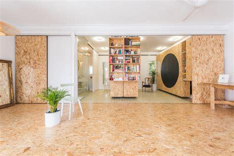 idee cuisine petit espace un intérieur modulable avec des panneaux d 39 osb
