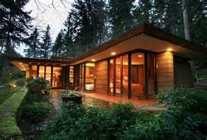 frank lloyd wright inspired house plans frank lloyd wright 39 usonian 39 home for sale in sammamish seattlepi