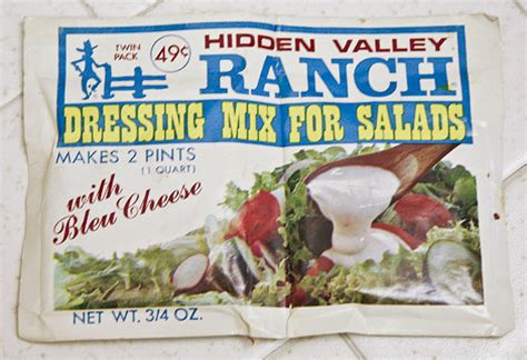 ranch america s salad dressing etsy journal