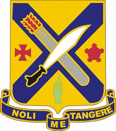 Infantry 2nd Regiment Dui Crest Army Insignia