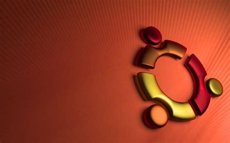 3d Ubuntu Photo by Ubuntu 3d Logo Render Desktop Wallpaper