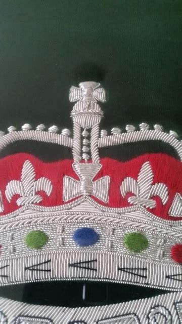 podium drape framed royal podium drape