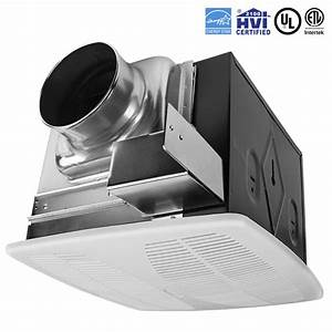 Bv 110 cfm bathroom fan ceiling ventilation exhaust vent for 2100 hvi bathroom fan
