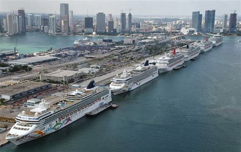 Florida Cruise Traveler - Navy Cruise Ship Parking Port Miami Or Port Everglades?