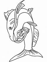 Catfish Coloring Pages Bluegill Fish Printable Minecraft Getcolorings sketch template