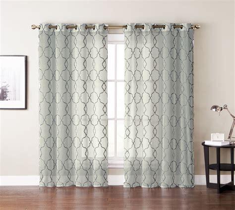 single 1 window curtain panel ivory beige sheer