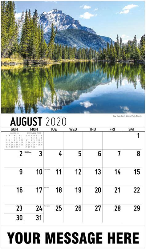 scenes western canada calendar business promotion calendar
