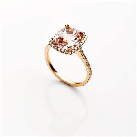 exclusivity by design morganite engagement ring diamonds south jewellery designer
