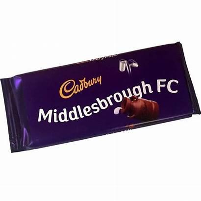 Cadbury Bar Chocolate Middlesbrough Fc Code