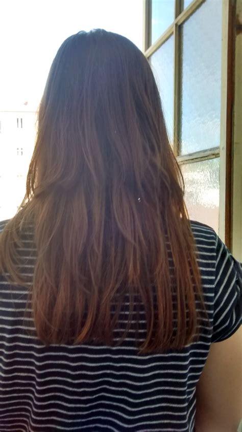 coupe cheveux long degrade derriere coiffures  la mode