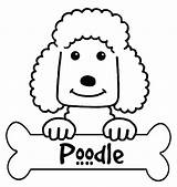 Poodle Coloring Pages Printable French Silhouette Outline Colouring Skirt Standard Getcolorings Print Silhouettes Designlooter Getdrawings Popular sketch template
