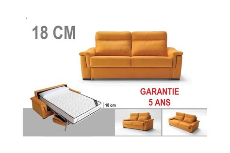 canapé lit usage quotidien canape lit couchage quotidien awesome canap convertible