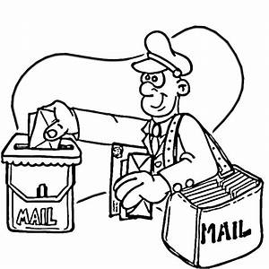 Mail Truck Coloring Pages Coloring Pages Now Coloring ...