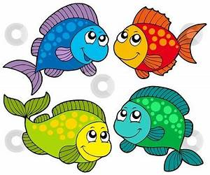 Free Cute Clip Art | Cute cartoon fishes collection stock ...