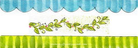 journal page border ideas  flower journal