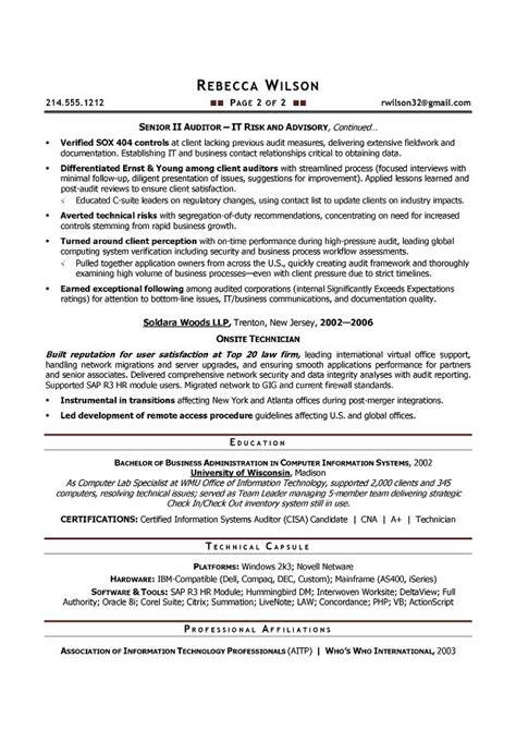 Auditor Resume by Sle Auditor Resume