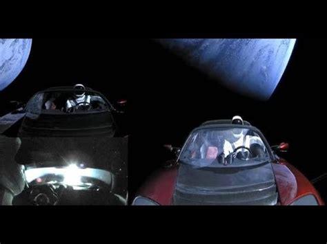 ufo fleet caught  tesla roadster  space youtube