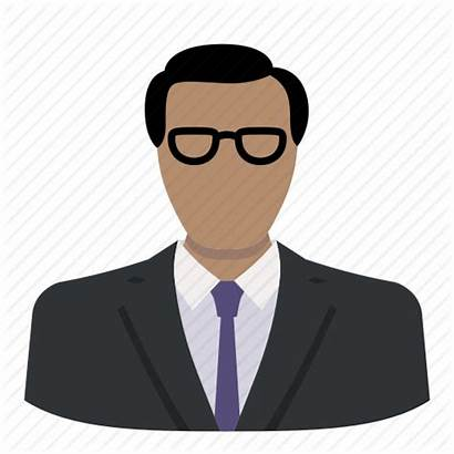 Corporate Icon Ceo Boss Profile Glasses Face