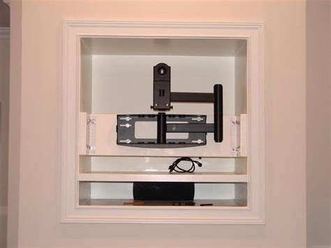 fireplace tv mount tv mount in the in the wall let s do this