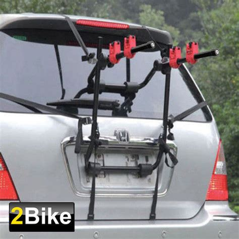 5 bike rack for suv black 2 bike trunk mount hatchback suv or cars wagon sport