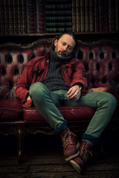 michael muller photographs thom yorke  london  filter