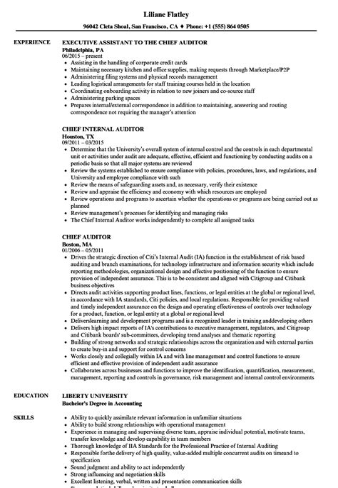 Resume Of Chief Auditor by Auditor Resume Objectives Cheap Assignment Special Assistant Sle Resume Cover Letter Of