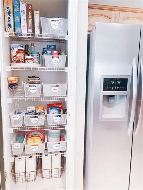 kitchen pantry organization makeover  home  natalie