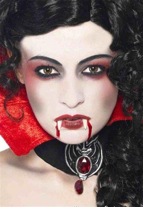 vampire halloween face    ideas  girlshue