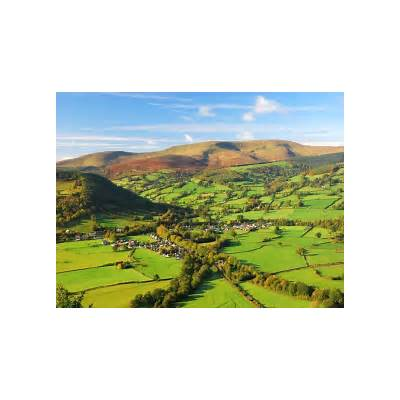 Usk Valley on the Talybont-on-Usk travel guide