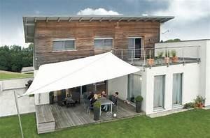 Moderne beschattung f r ihre terrasse ein sonnensegel for Beschattung terrasse