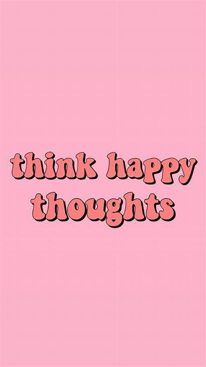 Think Thoughts Happy Backgrounds Thought Words Desktop
