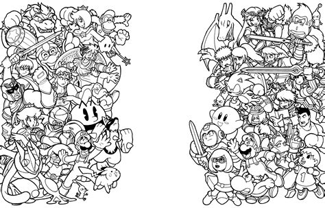 smash brothers wip nintendo force  thormeister  deviantart
