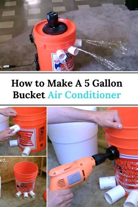 gallon bucket air conditioner home