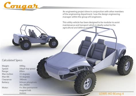 electric utility vehicles uni 4th year electric utility vehicle engineering