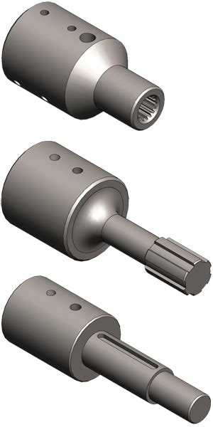 shaft extensions drive couplings bsf