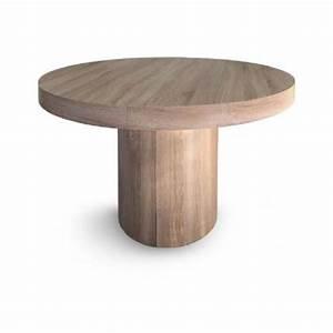 Tables Rondes Extensibles : table ronde extensible achat vente table ronde extensible pas cher cdiscount ~ Teatrodelosmanantiales.com Idées de Décoration