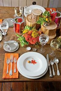 Natural, Thanksgiving, Table, Decoration, Ideas