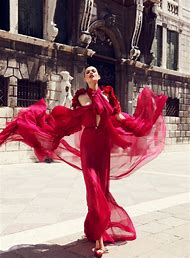 Red Dress Fashion Photography